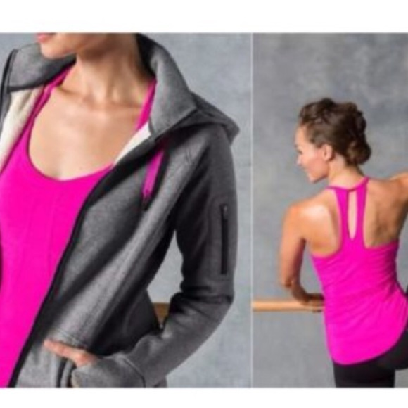 Athleta pink tank